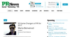 PR-News Maria Benvenuti
