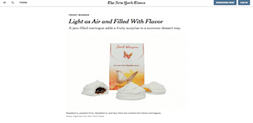 sweet whispers new york times