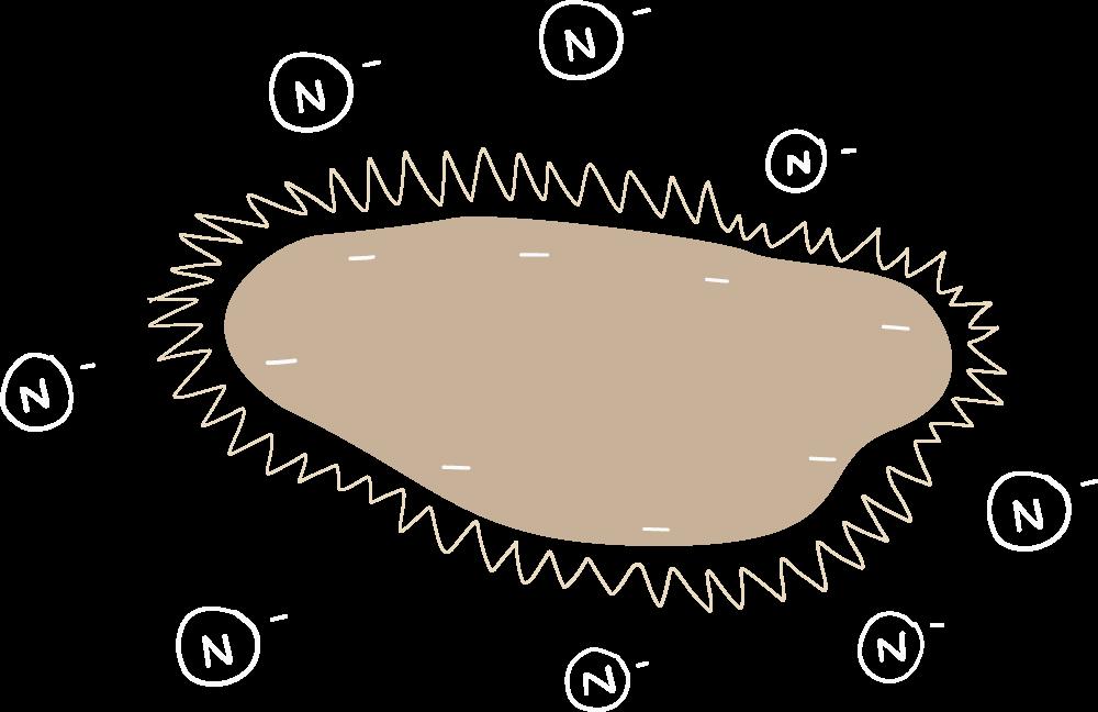 Nitrogen leaching from the soil