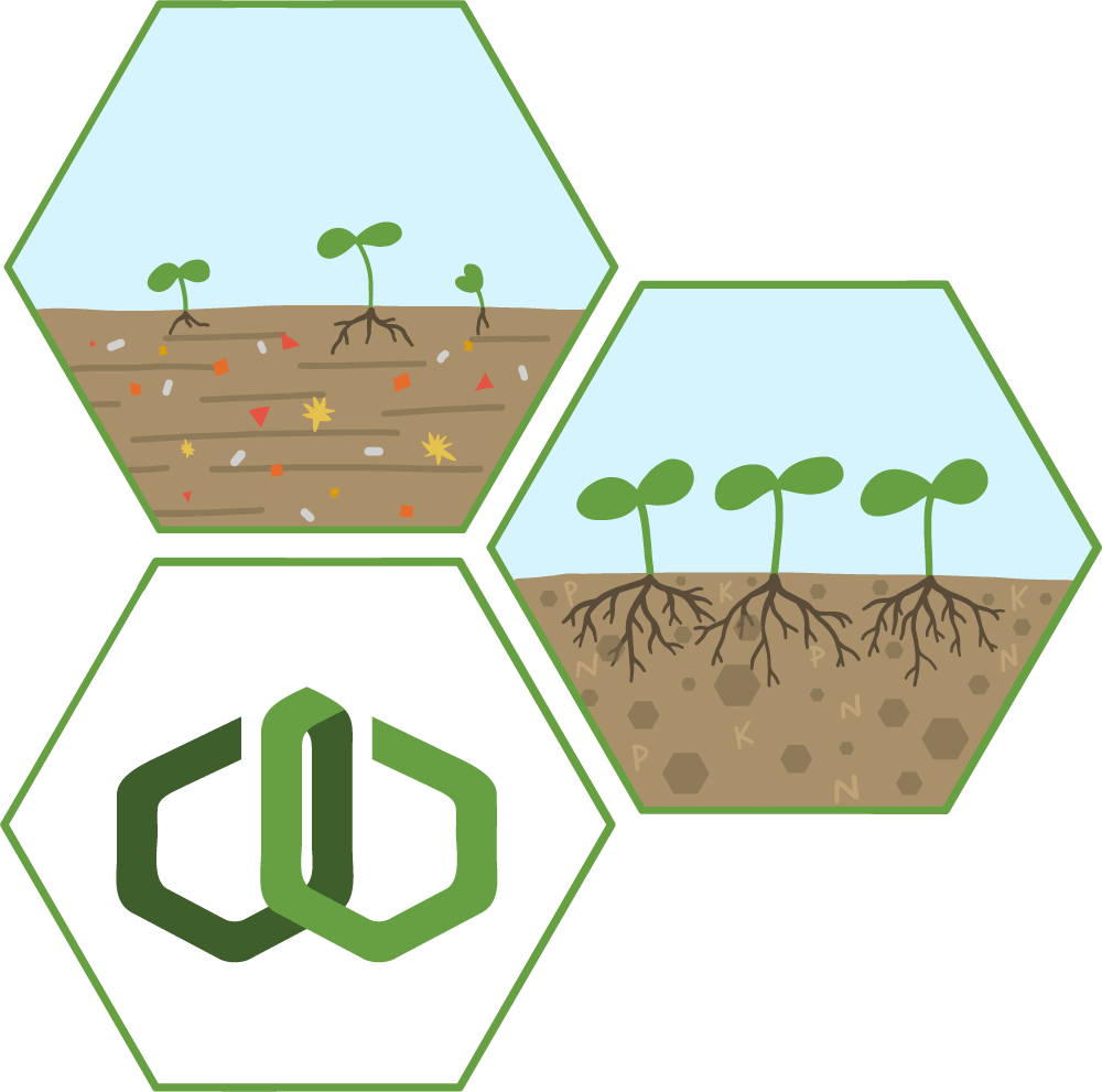 Eliminating toxins in the soil