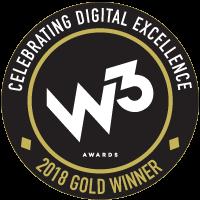 w3 2018 Gold Winner