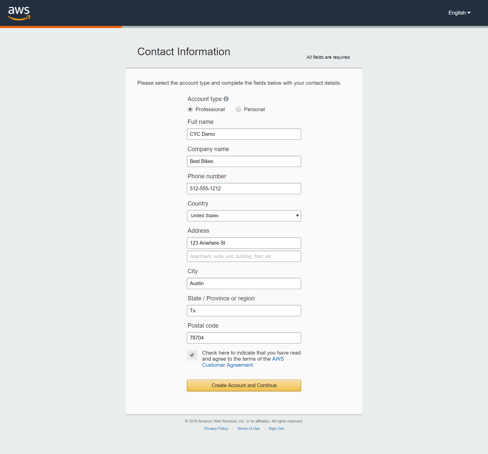 Amazon Ses Account Setup