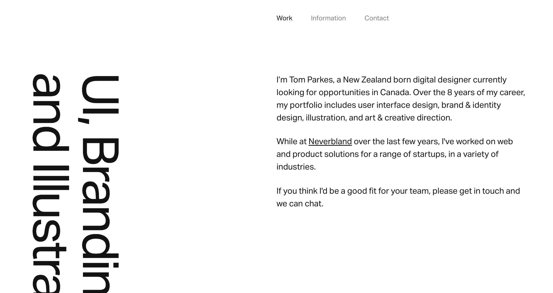 UX Designer Portfolio Website