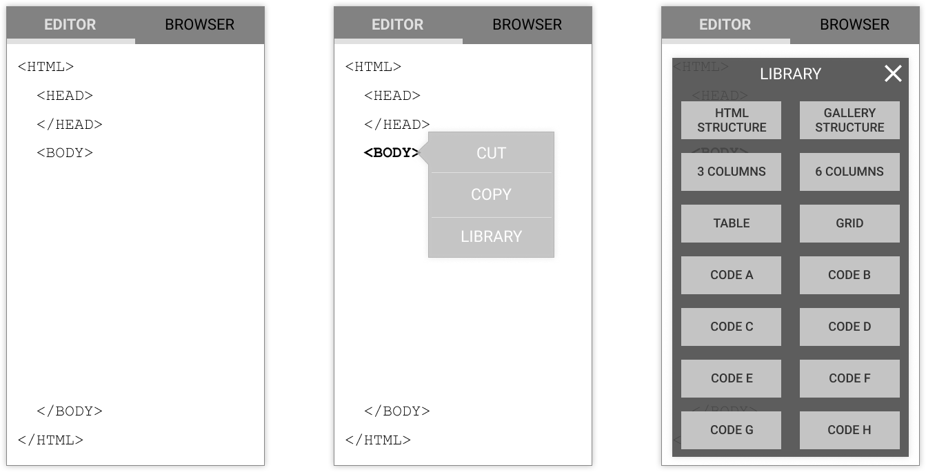 high-fidelity wireframes