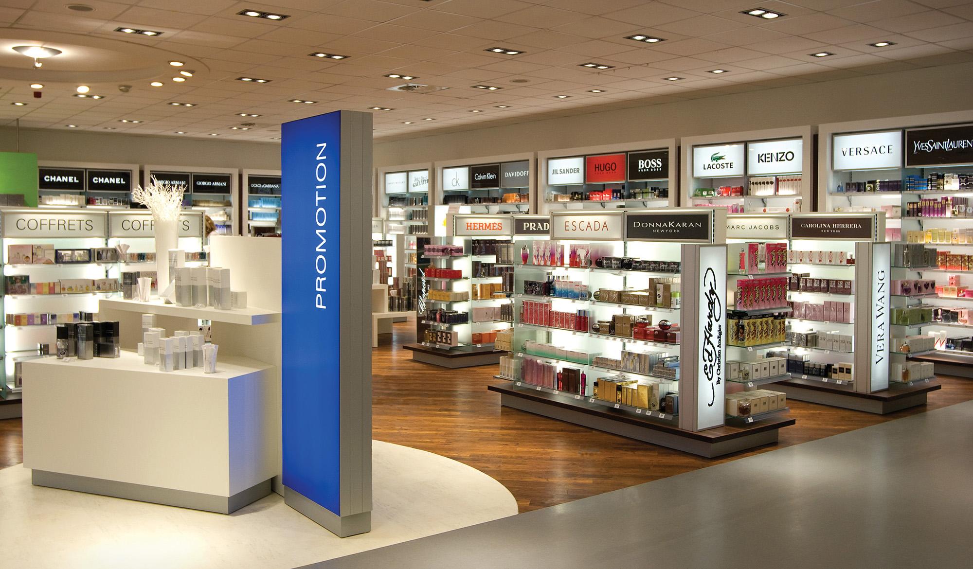 Foto van een cosmetica winkel