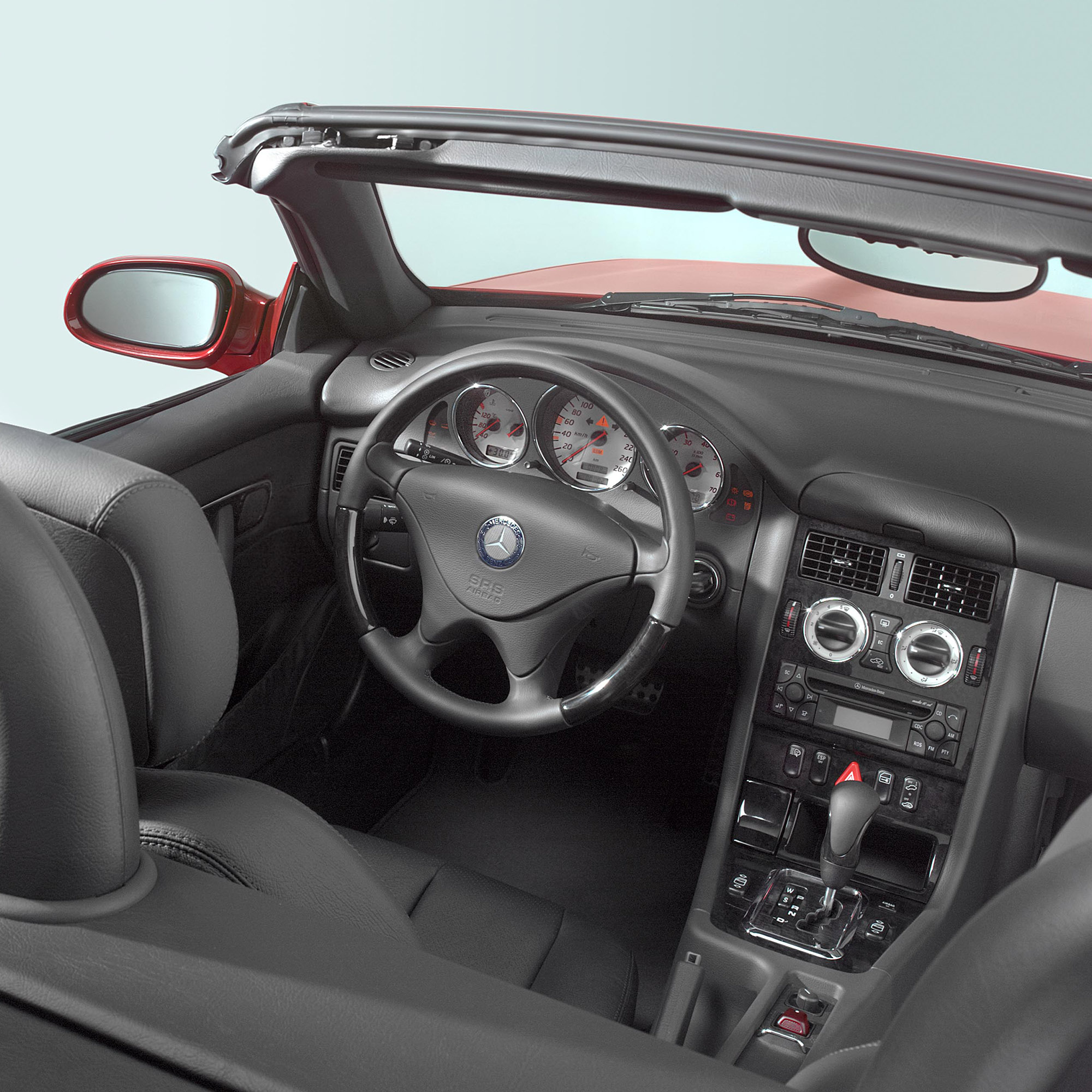 Foto interieur in cabrio