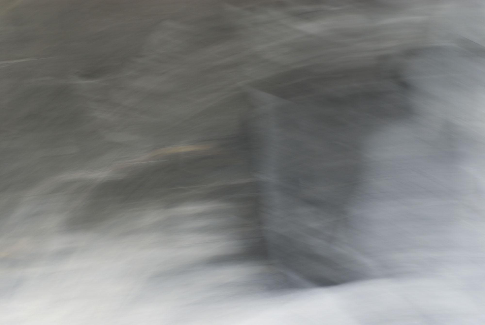 Foto van vage grijze vormen