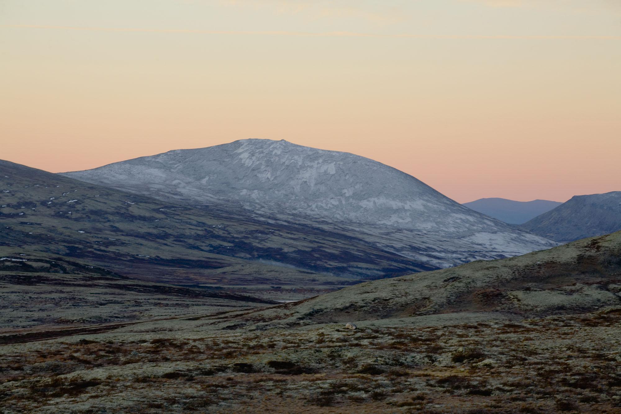 Foto van landschap met bergen