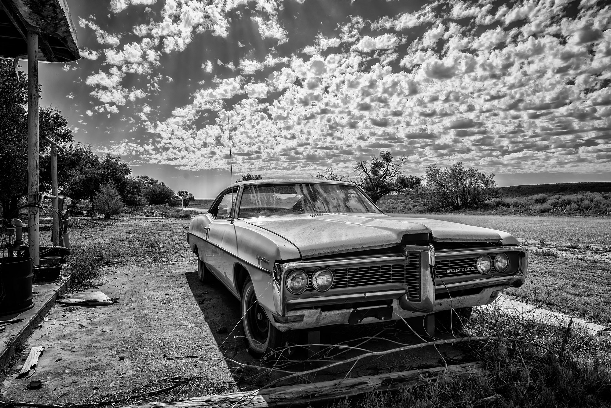 Oldtimer op Route 66