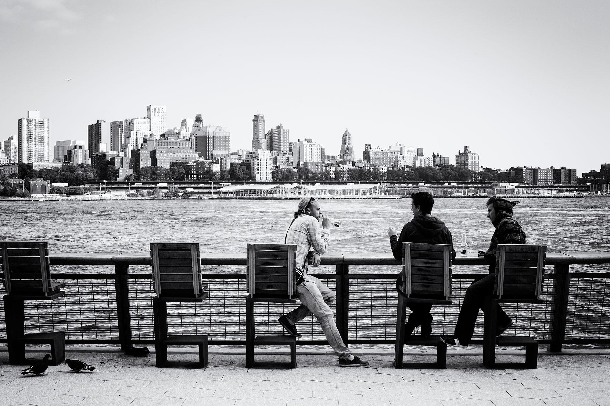 Uitziicht op Manhattan