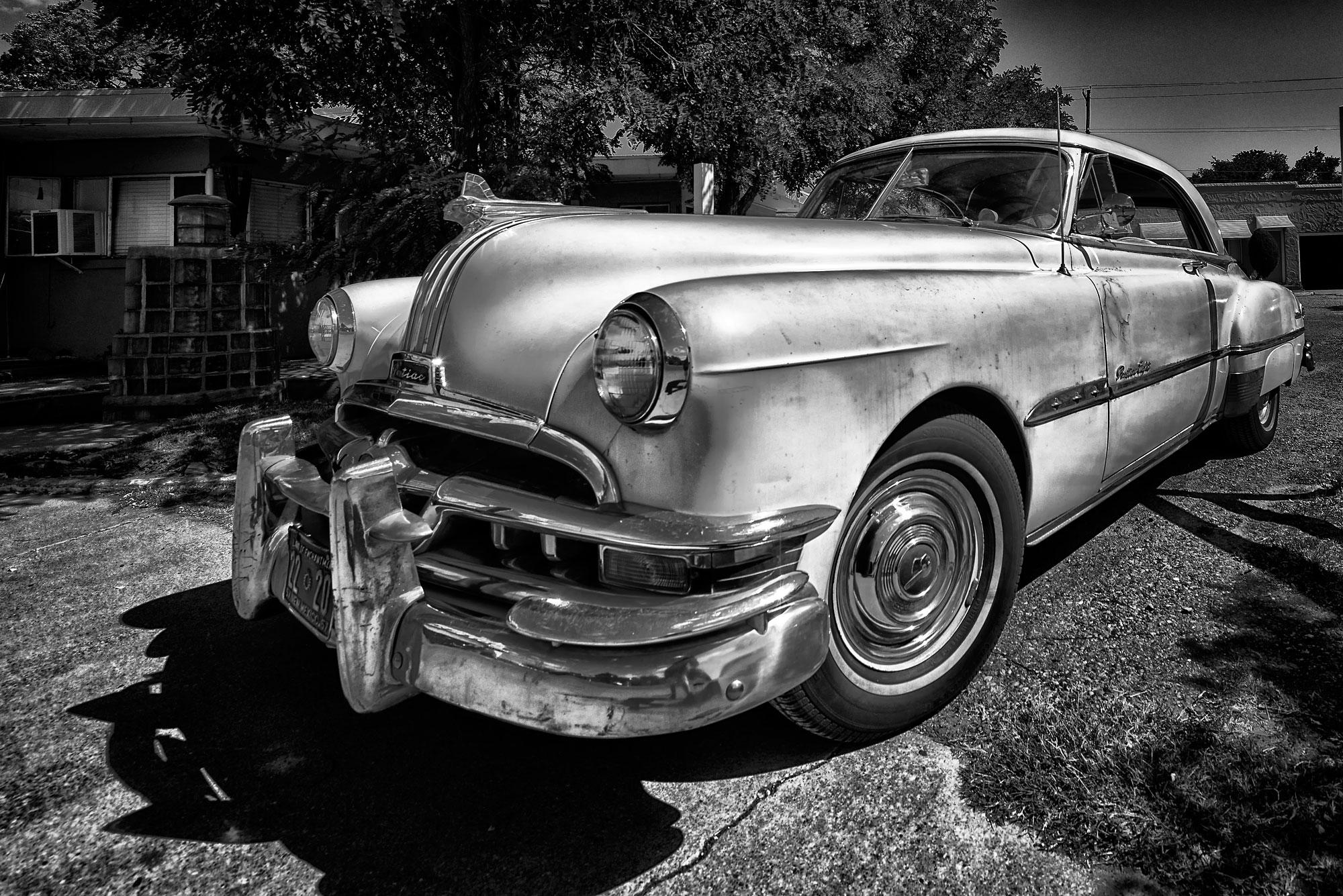 Pontiac op Route 66