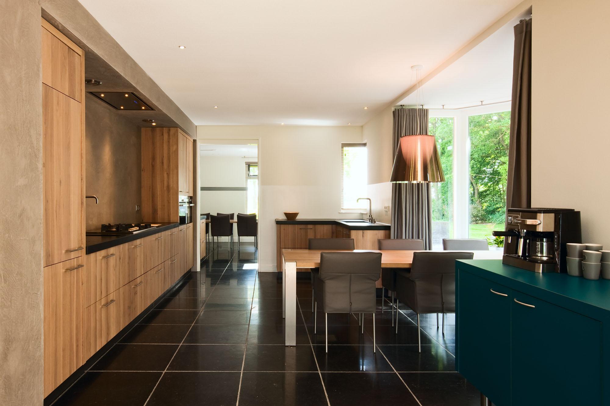Foto van een moderne keuken