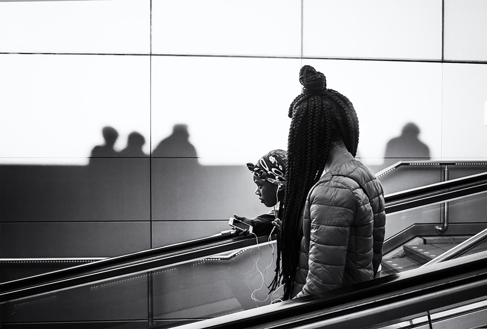 Teenagers to the metro.