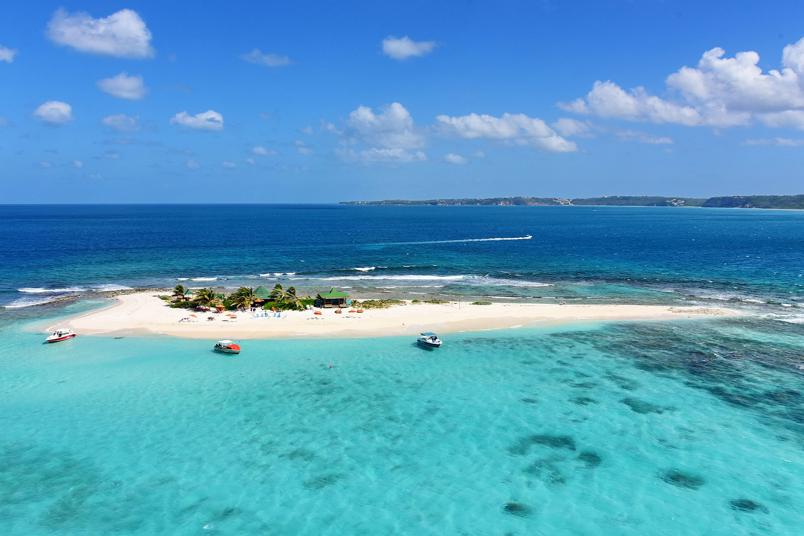 Sandy Island near Anguilla, British West Indies a great place for picnics