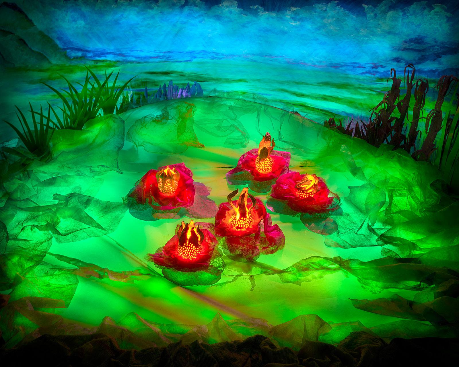 Aan de oever van de Amazone door Jan van der Horn
