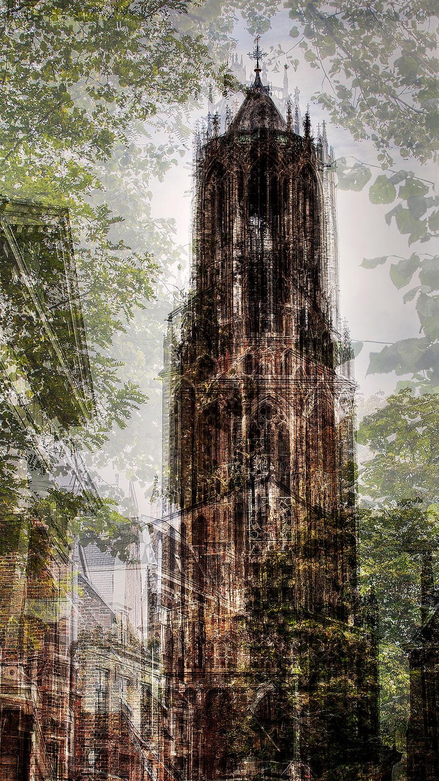 The Dom tower in Utrecht