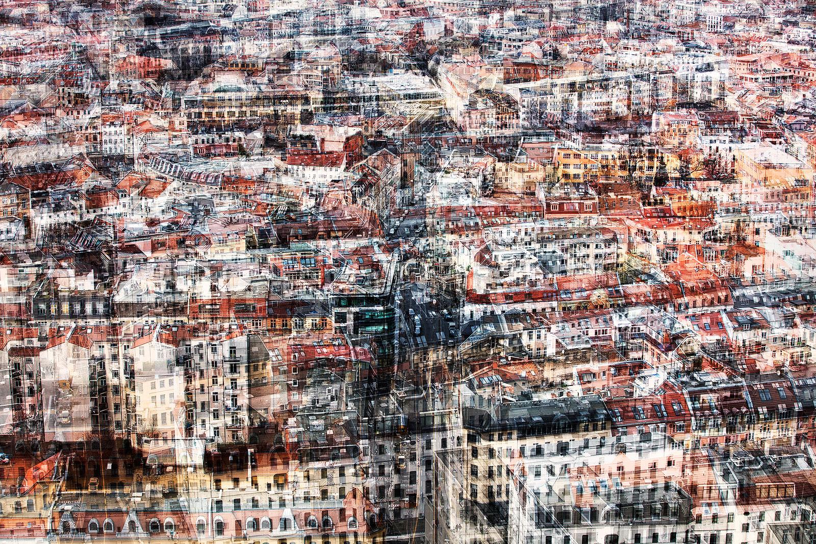 Berlin Mitte is een foto uit de serie 'Frozen Streets Berlin'