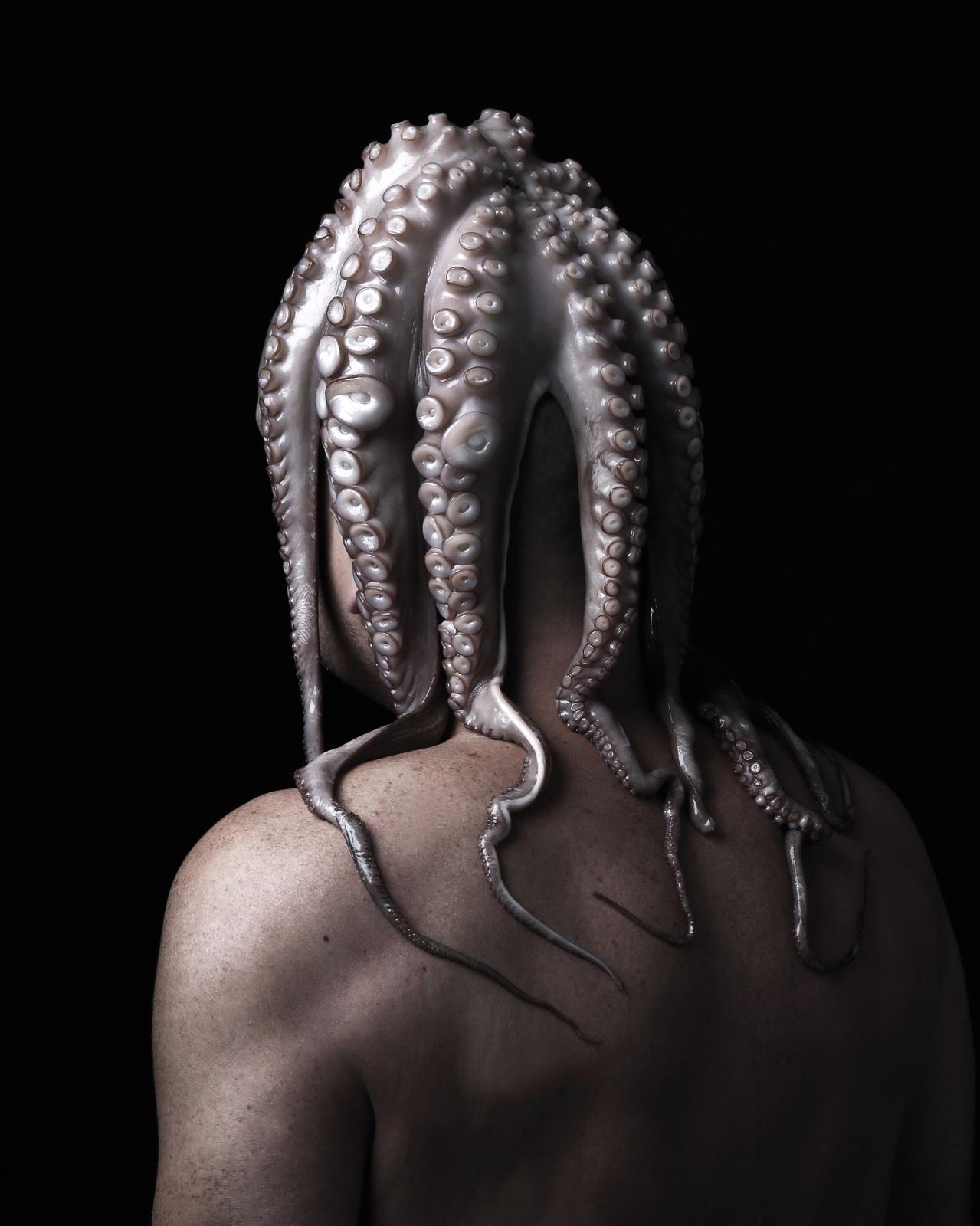Foto uit de serie Octopussy, voor kunst10daagse Bergen (NH) 2018.