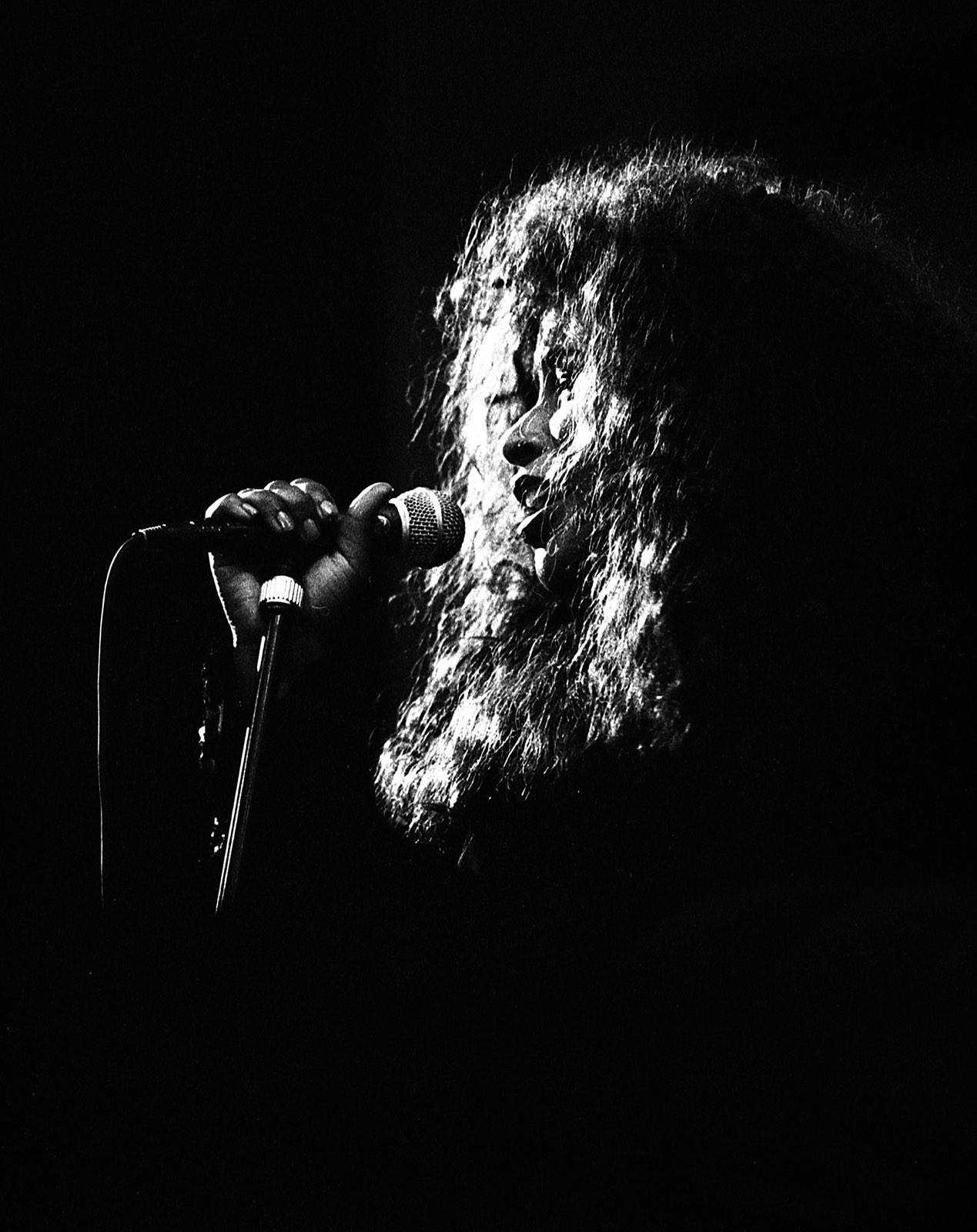 Shaka Khan zingend door Frans Davids