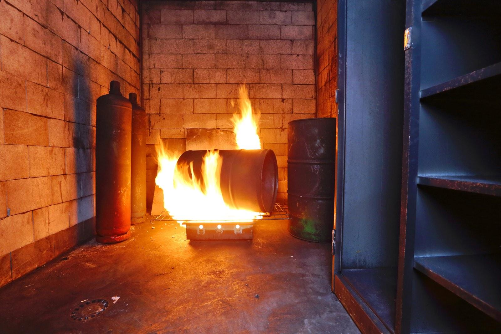 Interieurfotografie vuur in bedrijf door Wilmar Dik