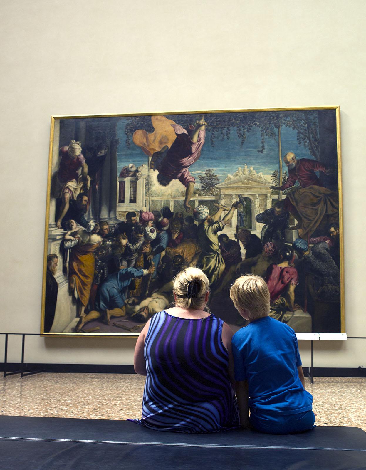 Kunst kijken Accademia in Venetië 2 door Remmelt van Veelen