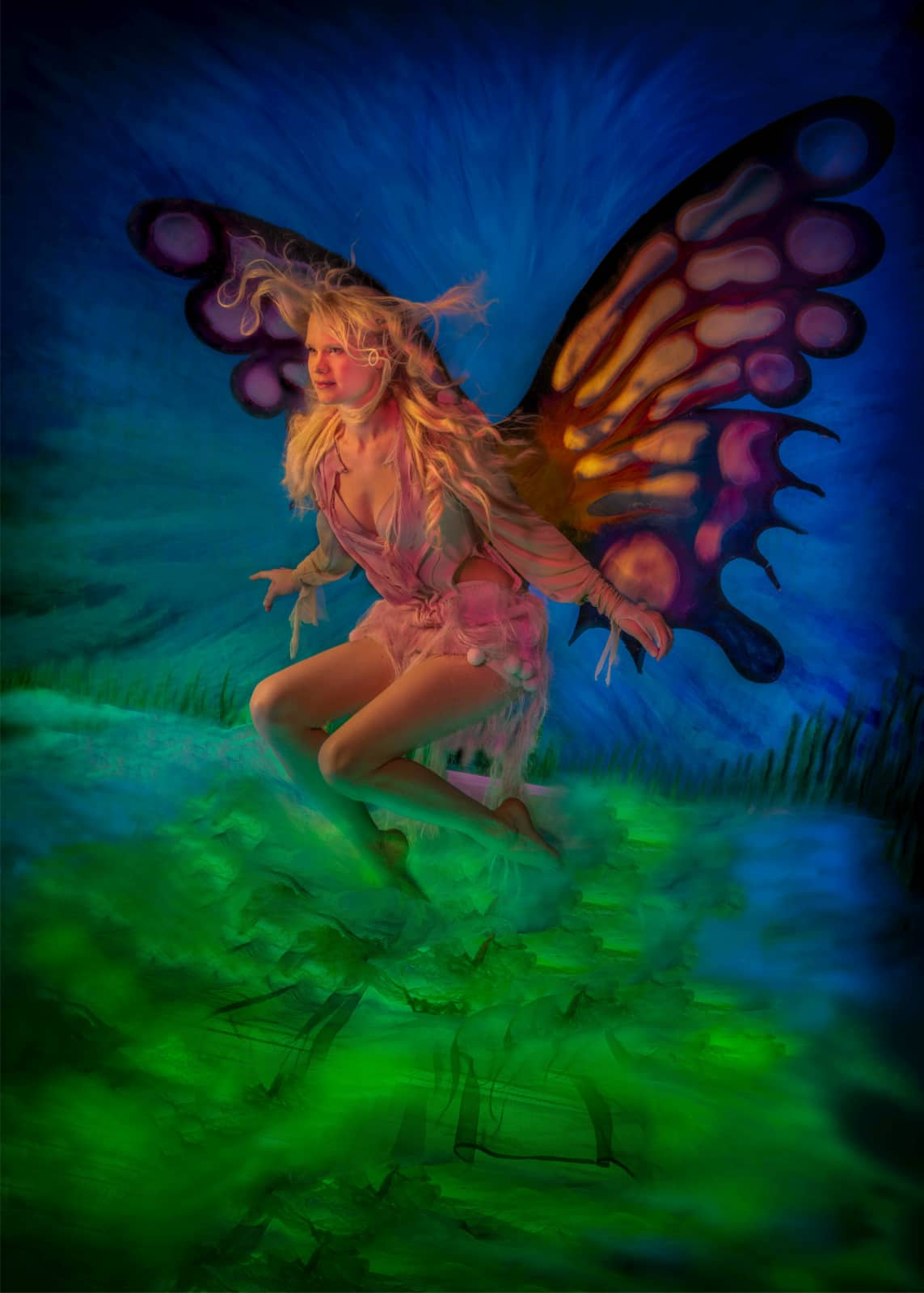 Laura vlinder door Jan van der Horn