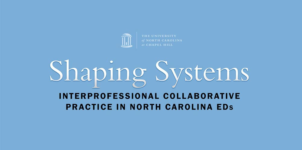 UNC's Shaping Systems logo design