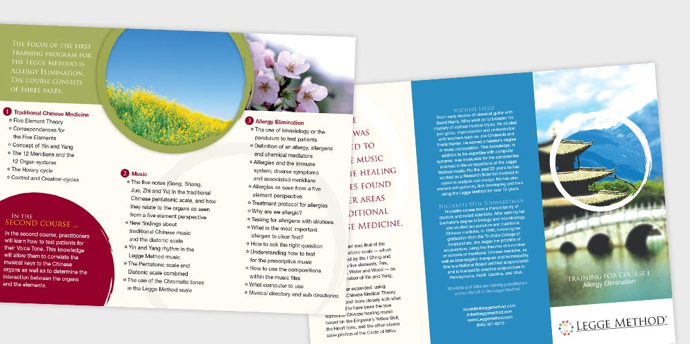 Legge Method brochure