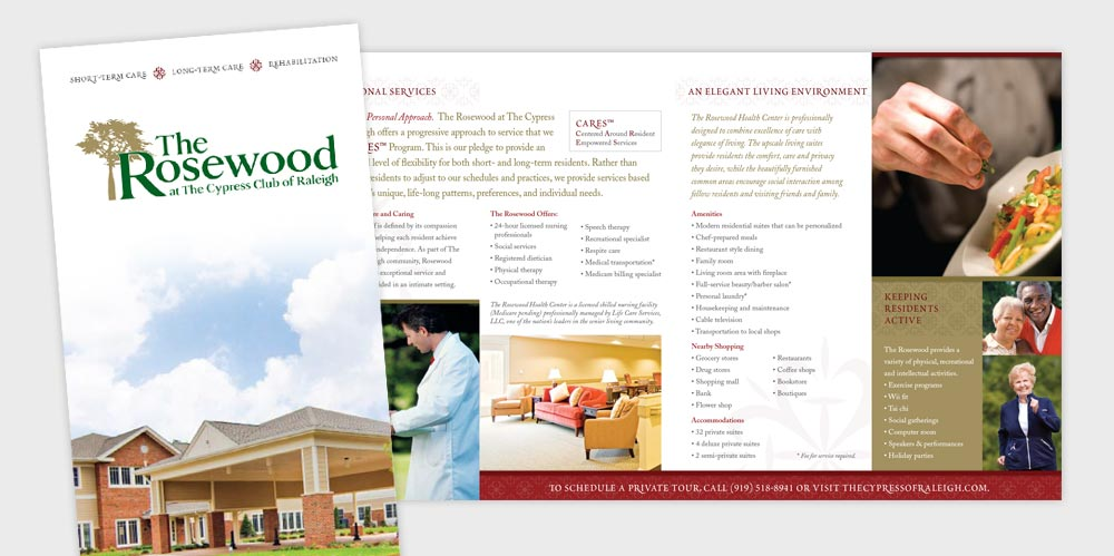 Rosewood brochure design