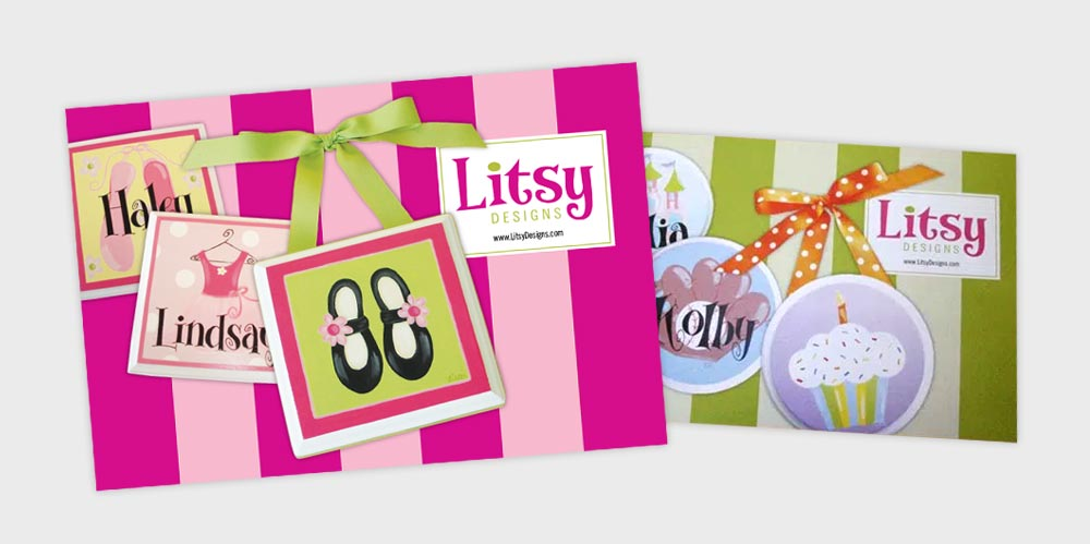 Litsy Designs postcards