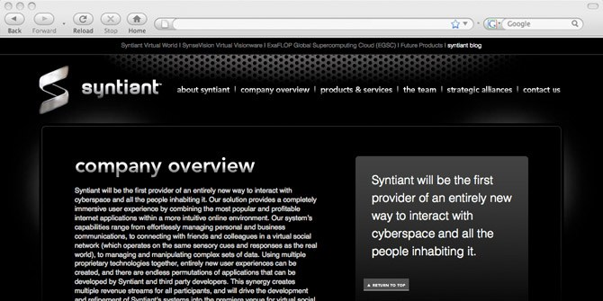Syntiant website