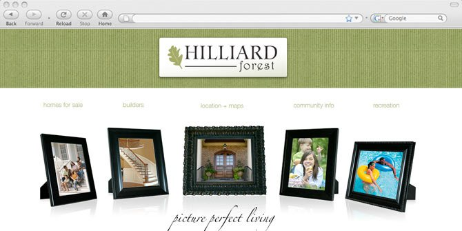 Hilliard Forest website