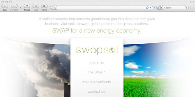 Swapsol website