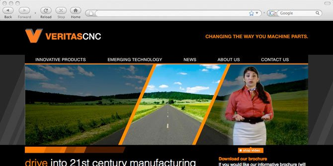 VeritasCNC website