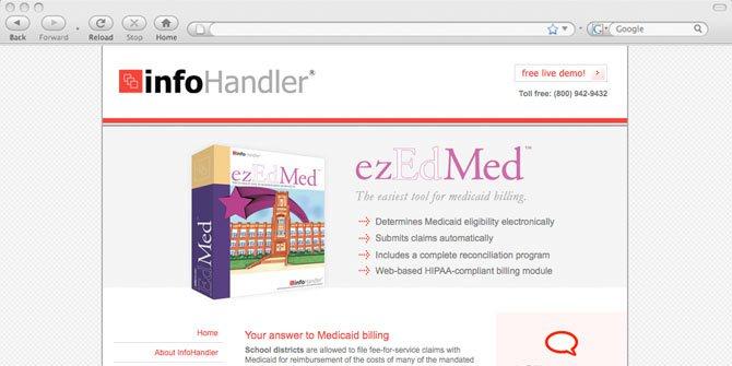Infohandler website
