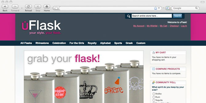 uFlask website