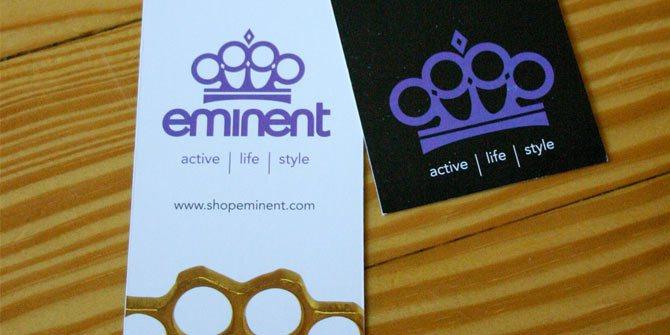Eminent hangtag design