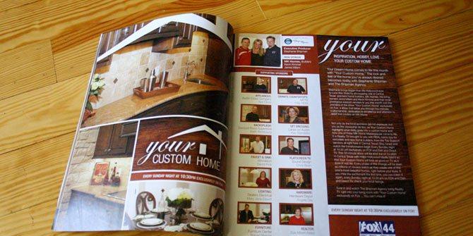 Home show magazine ad