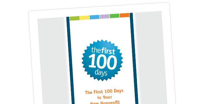 First 100 Days book design