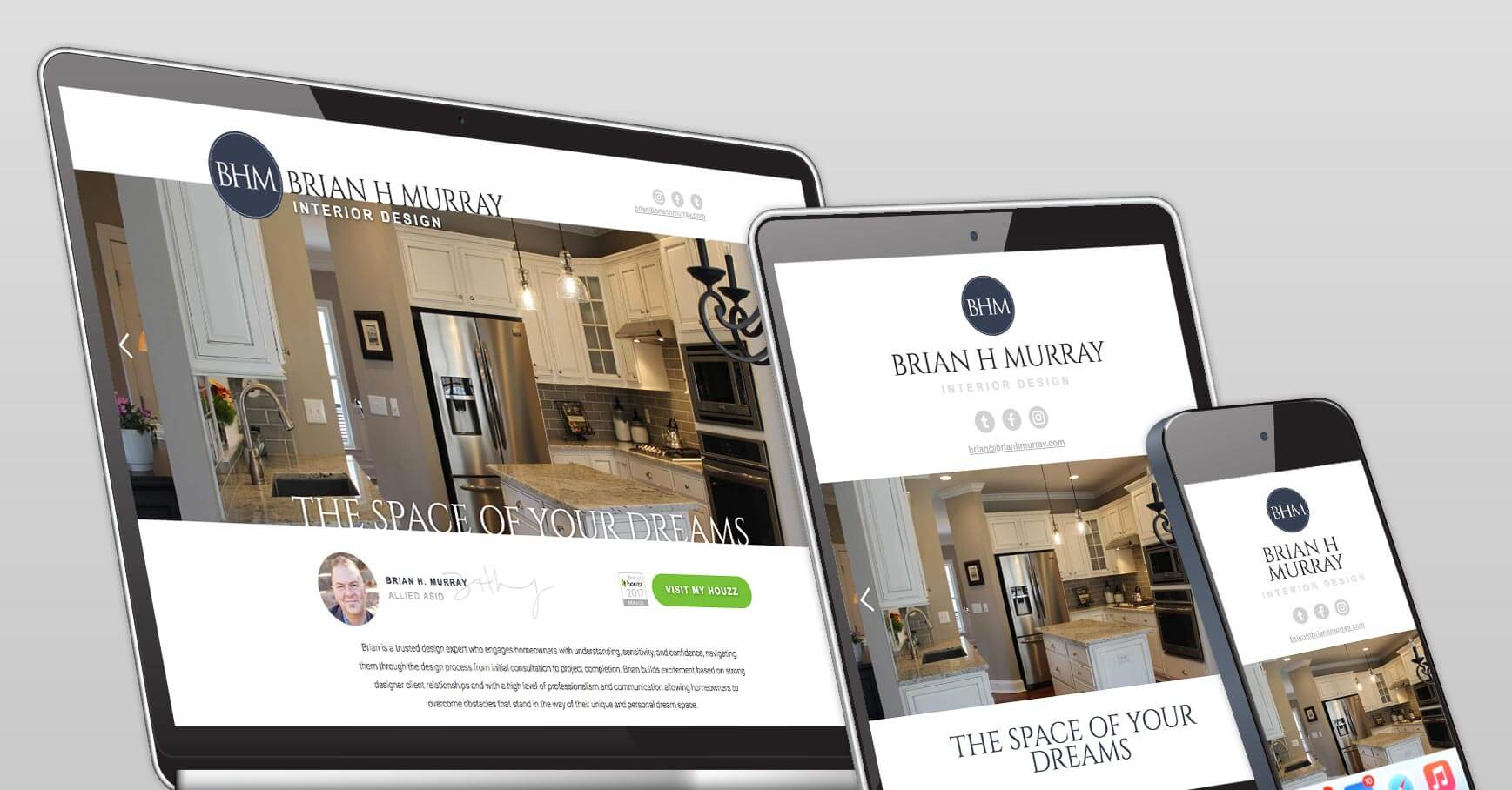 Brian H Murray web design
