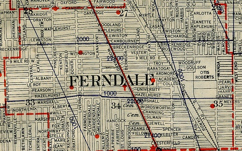 Ferndale Michigan Map.Resources Zoning Updates And Changes