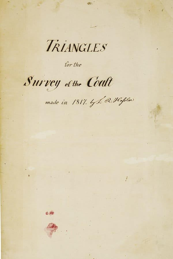 "Ferdinand Hassler, author of ""Triangles of the Survey of the Coast,"" introduced new surveying methods to North America in the early 19th century."