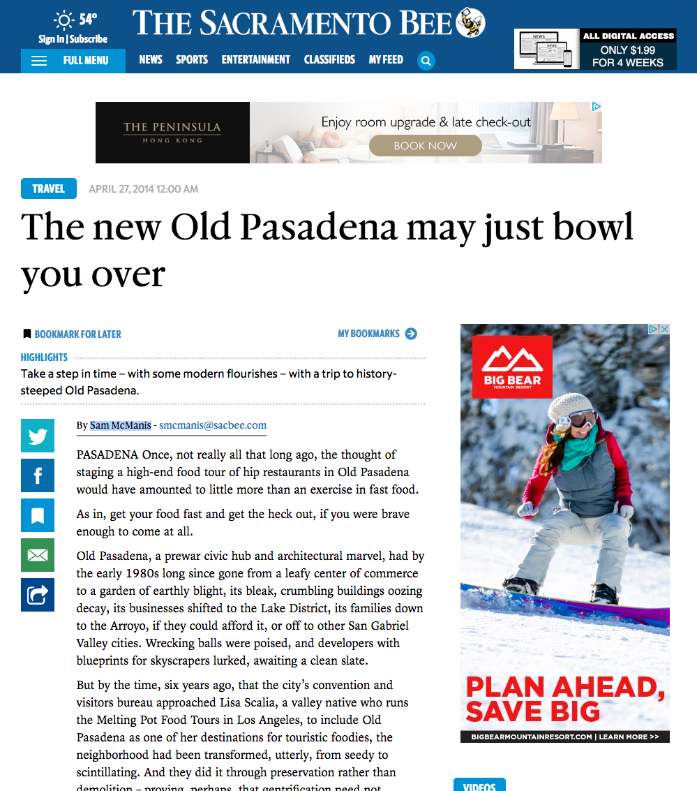 THE NEW OLD PASADENA MAY JUST BOWL YOU OVER