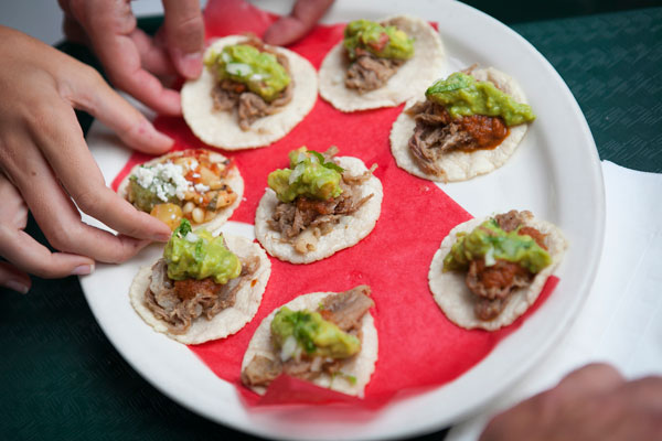 Mini Tacos - Farmers Market Food & History Tour