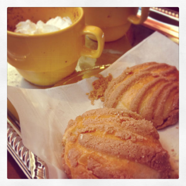 pan dulce and cafe