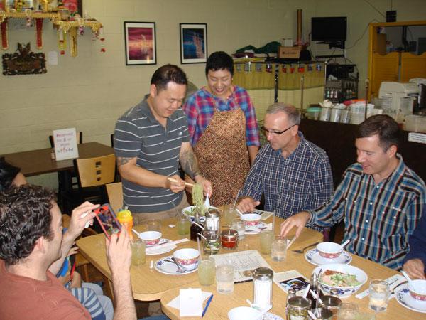 Sap Noodles - Chef Tila Food Tour