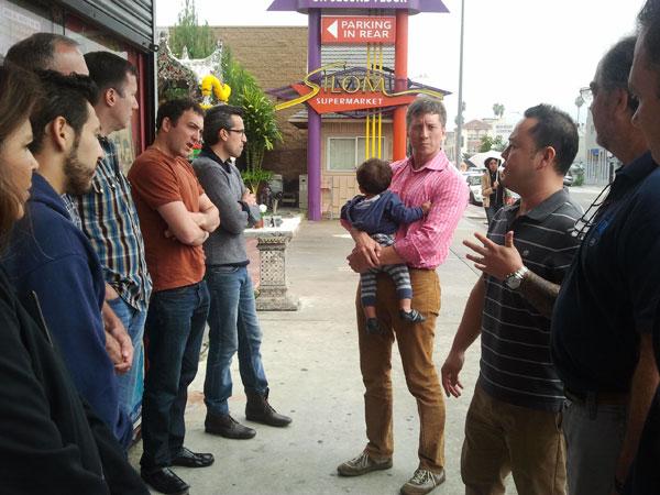 Group Photo - Chef Tila Food Tour