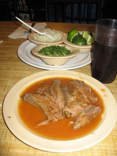 Jalisco style Food