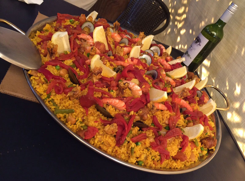 Paella - La Española Meats VIP Tour