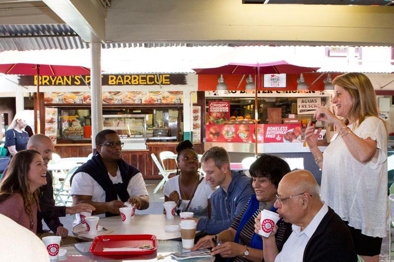 Farmers Market Food & History Tour Talk